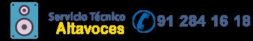 servicio técnico altavoces logo